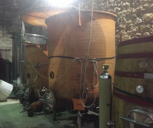 Wine made in tiny batches
